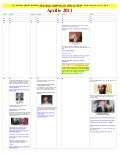 April 2011   alendar of events leading to lies about killing of osama bin laden (romanian)