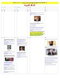 April 2011   alendar of events leading to lies about killing of osama bin laden (slovian)