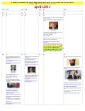 April 2011   Calendar of Events LEADING To LIES About KILLING OF OSAMA BIN LADEN (swahili)