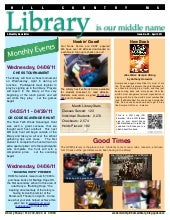 April 2011 newsletter hcms