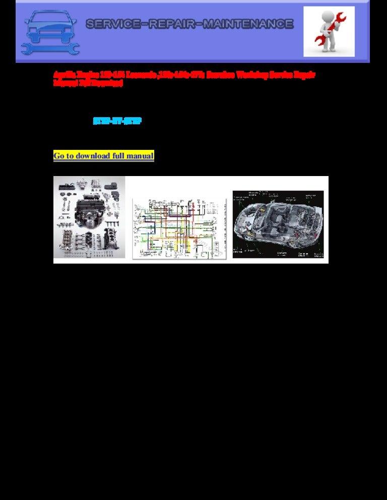 Aprilia Engine 120 154 Leonardo  120s