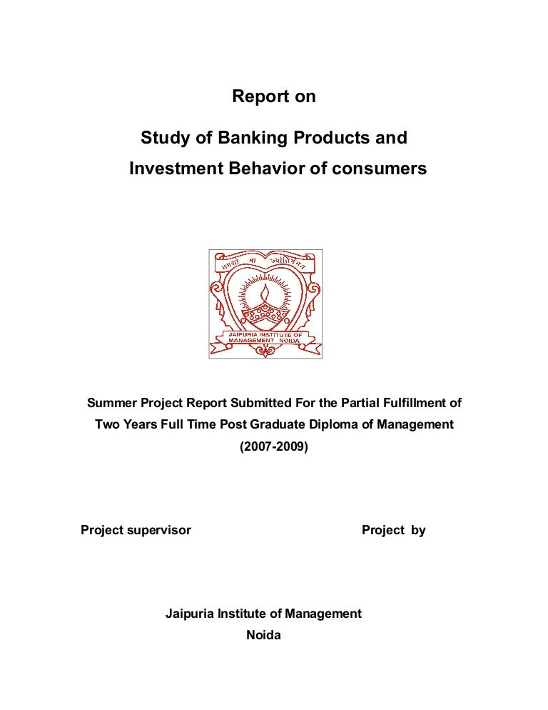 project report on investment avenues Investment avenues to modern high yield investment avenues like shares, mutual fund schemes is observed source of information investors rely on different sources of information while investing the sources of information may be magazines, news papers, information provide by friends and relatives, brokers or agents.