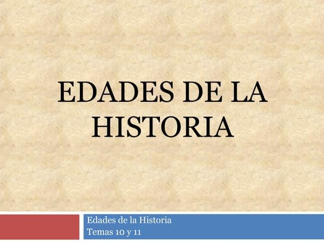 Apuntes de Prehistoria y Edad Antigua