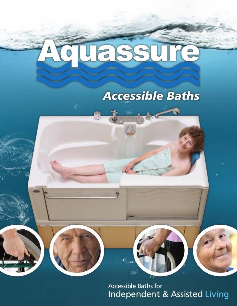 Aquassure ADL Slide-in Bathtub Brochure
