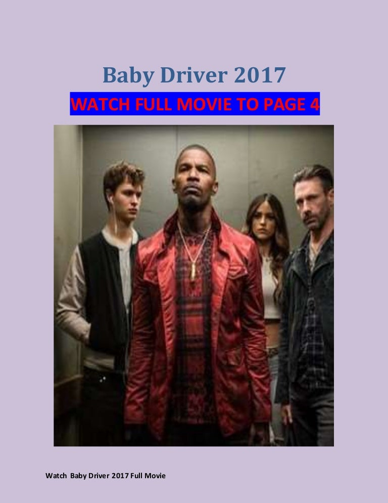 Baby Driver Hd Stream