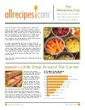 Allrecipes' 11 Trends for 2011 Measuring Cup Report