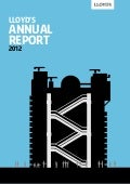 Lloyd's annual report 2012