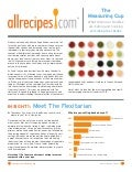 Allrecipes.com 2012 Trends Measuring Cup Report