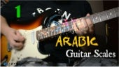 Arabic Guitar Scales - Hijaz positions