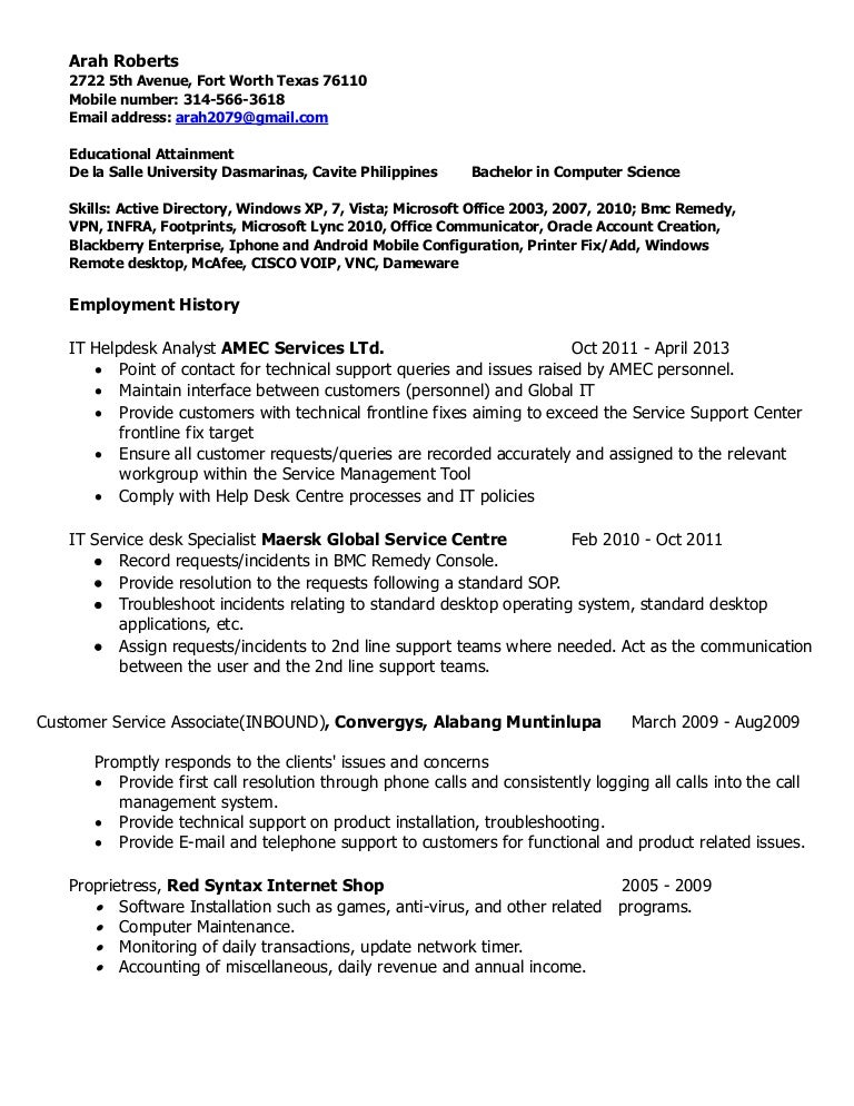 Gis Analyst Resume Sample Free Example And Writing Download Food Resumes