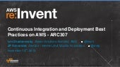 Continuous Deployment @ AWS Re:Invent