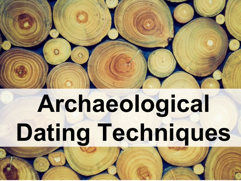 Non isotopic dating methods archaeology