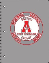 Archer High School Silver Proof for Notebook