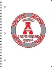 Archer High School White Spiral-bound Noteook Proof