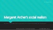 Archer's social theories