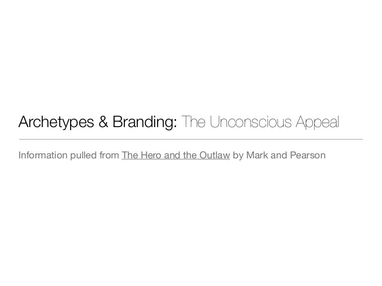 archetype overview brand examples character compass