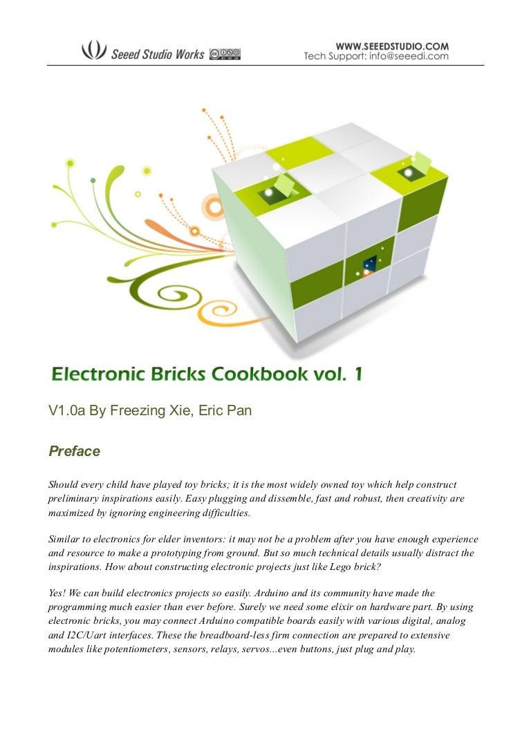 Arduino Electronics Cookbook Relay Electronic Brick