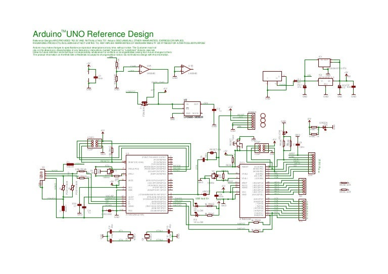 Arduino uno-schematic reference design on