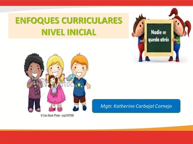 Areas curriculares nivel inicial for Programa curricular de educacion inicial