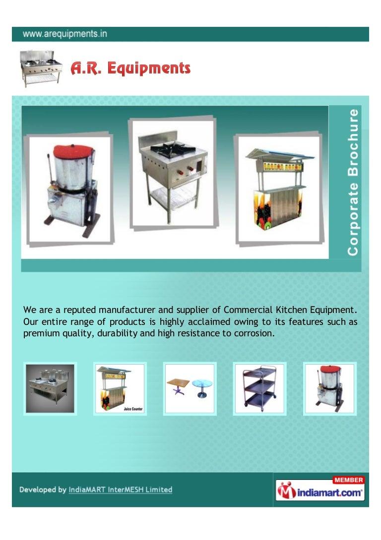 A. R. Equipment, Mumbai, Kitchen Equipments