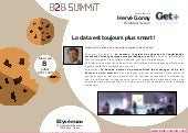 B2B summit 2015 interview Hervé Gonay