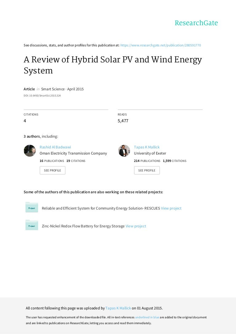 Journal of Solar Energy - An Open Access Journal