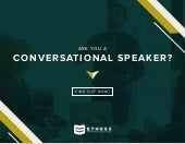 Are you a conversational speaker? Take the quiz!