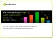 Are You Measuring The Right Social Media Metrics?