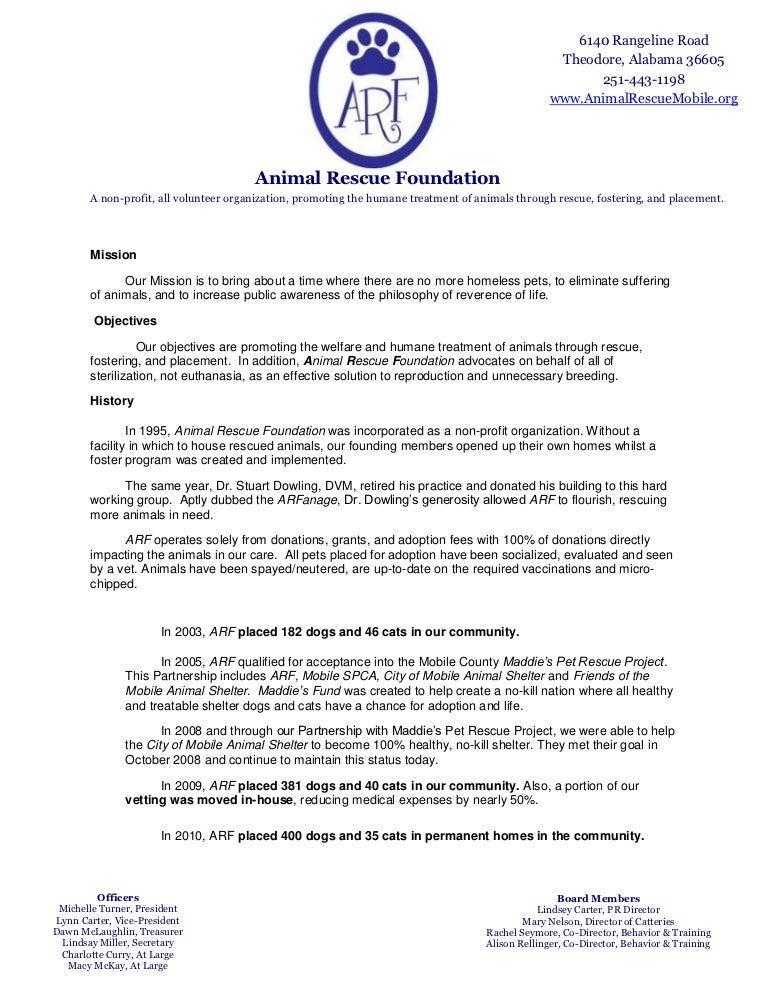 Animal Shelter Resume Sample - Contegri.com