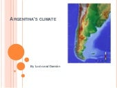 Argentina's climate