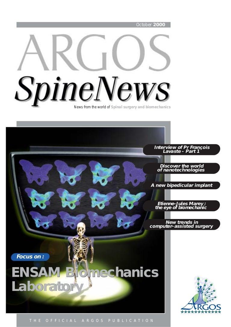 Argos SpineNews 3