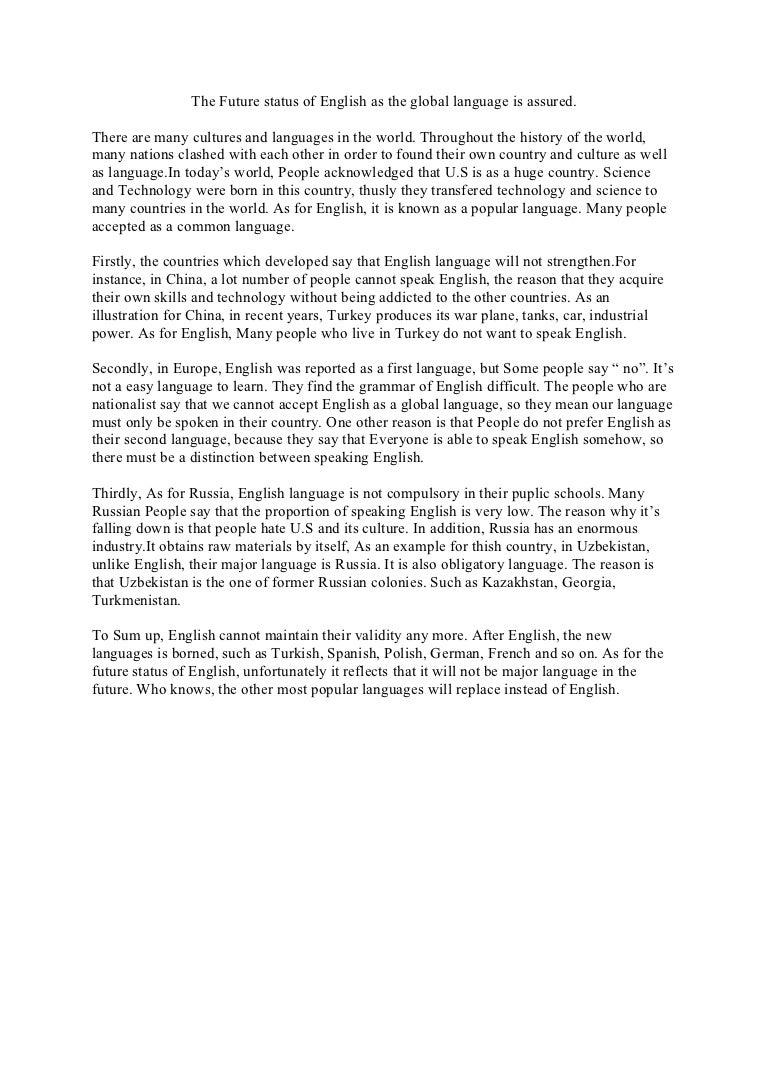 Argumentative Essay English Language   Argumentative Essay  Argumentative Essay English Language