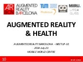 Augmented Reality & health