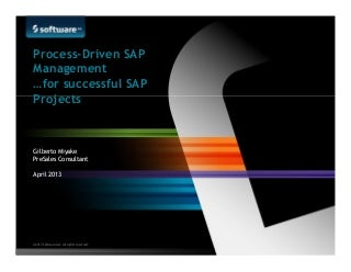 Sap projects linkedin process driven sap management for successful sap projects sciox Choice Image