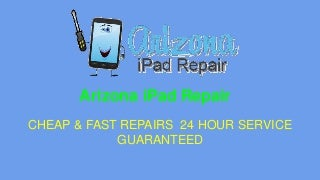 Arizona i pad, iphone, ipod screen, water damage repair in scottsdale az