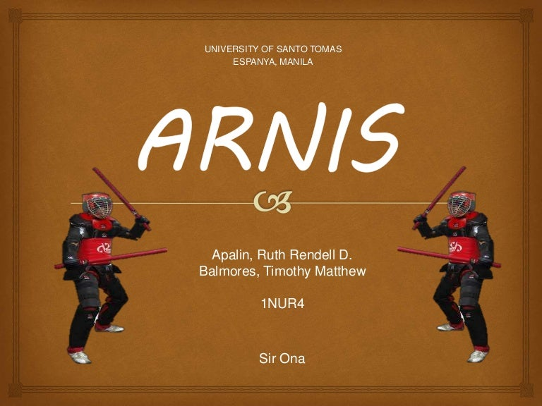 Arnis single baston