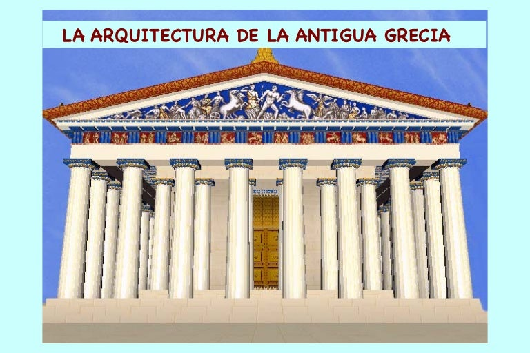 Arquitectura De La Antigua Grecia
