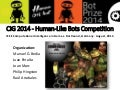 BotPrize 2014 Results. Human-Like Bots Competition at IEEE CIG