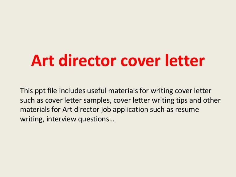 director cover letter samples