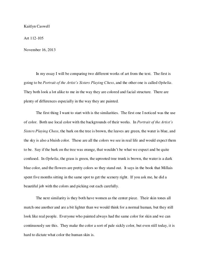 What is art essay free how to set up a college essay heading