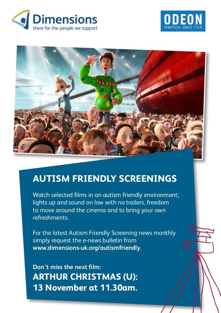 Autism Friendly Screening Of Arthur Christmas In B Ham