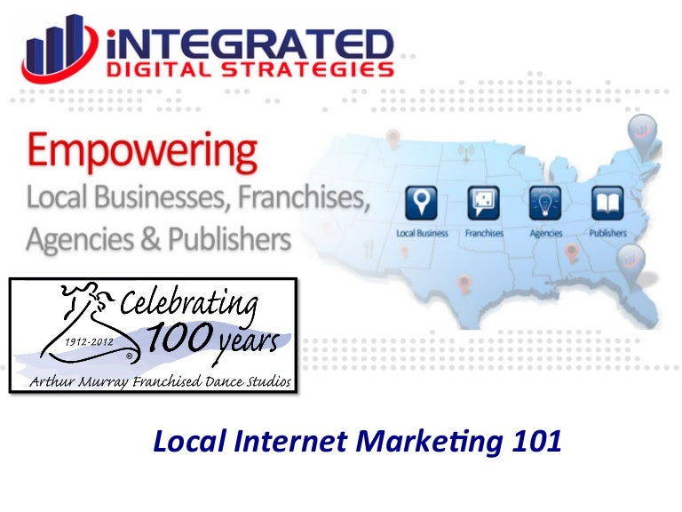 Local Business Internet Marketing Strategies For 2013