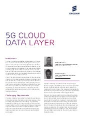 5G cloud data layer