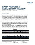 Bank Merger & Acquisition Review: 2011 & Q1 2012 | Mercer Capital