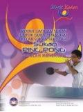 Modul Latihan Sukan untuk Guru Penasihat Kelab Sukan Sekolah (Ping Pong) Sekolah Menengah