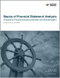 Basics of Financial Statement Analysis | A Guide for Private Company Directors and Shareholders