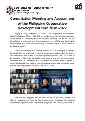 Article on the Mid Term Assessment of the Philippine Cooperative Development Plan for the Ilocos Region