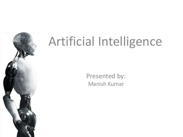 Artificial intelligence a seminar on emerging trends of technology toneelgroepblik Gallery