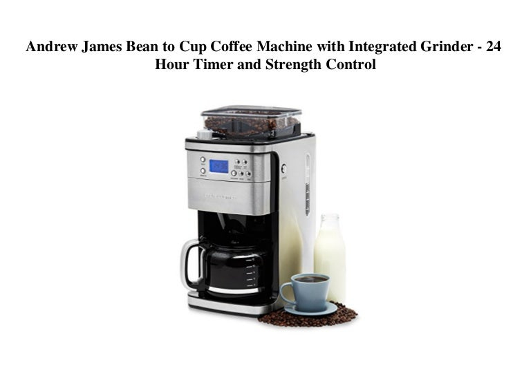 Andrew James Bean To Cup Coffee Machine With Integrated