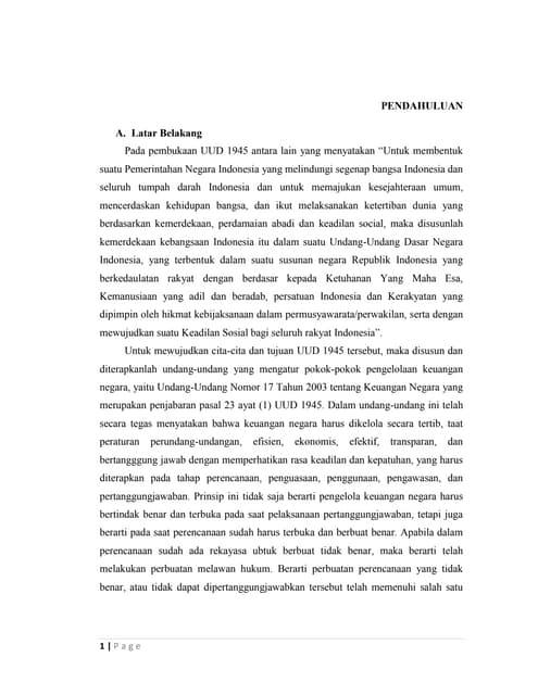 essay pencegahan korupsi